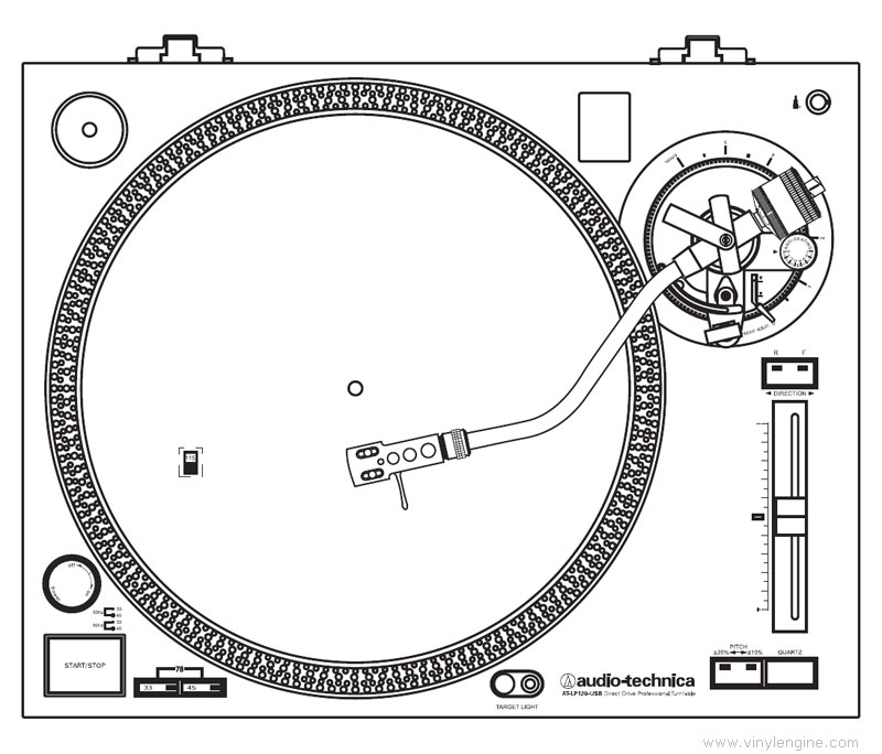 audio technica at-lp120-usb manual