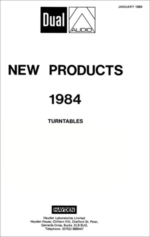 Dual New Products 1984