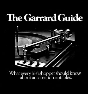 Garrard The Garrard Guide