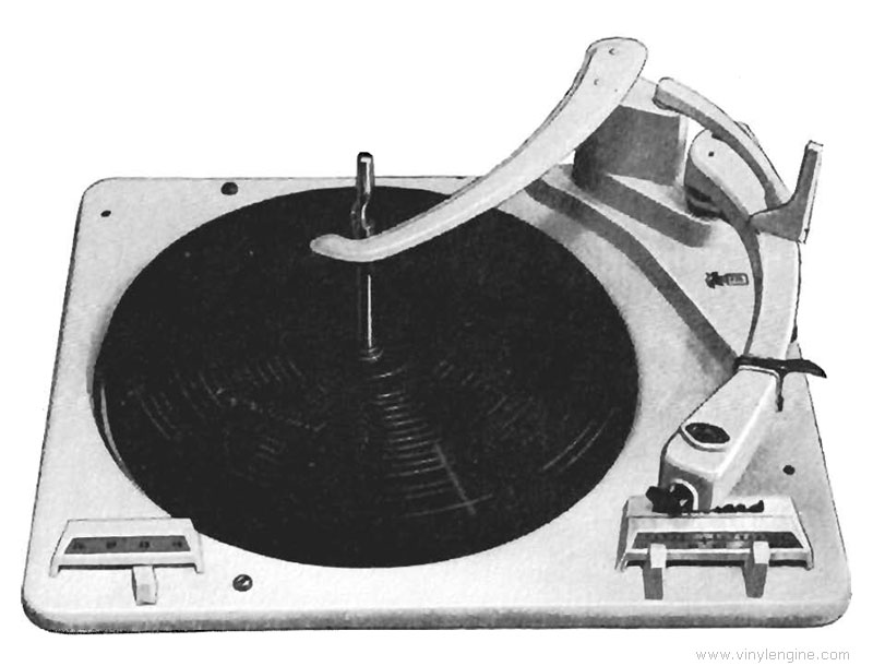 Garrard Rc210 Manual Four Speed Fully Automatic Record