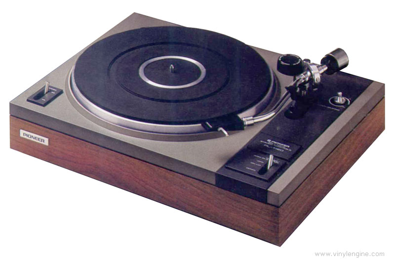 Pioneer Pl 112d Manual 2 Speed Belt Drive Turntable