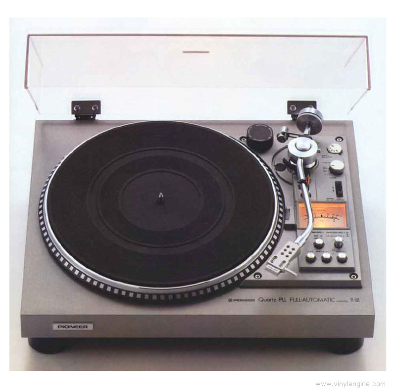 Pioneer Pl 560 Manual Direct Drive Automatic Turntable