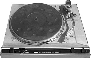 Saba Psp 240 Manual Semi Automatic Belt Drive Turntable