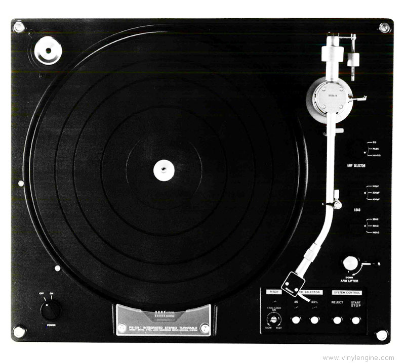 Sony Ps X9 Manual 2 Speed Direct Drive Turntable Vinyl