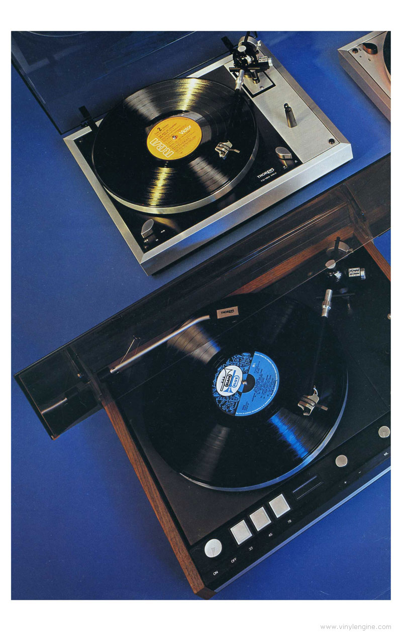 thorens td 115 service manual