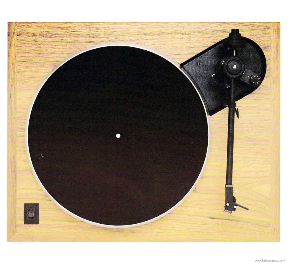 Acoustic Research The Legend - Manual - Belt Drive Turntable - Vinyl