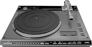 Aiwa LP-3000 library page