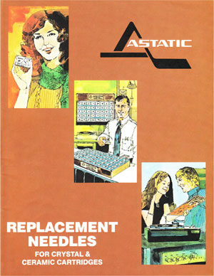 Astatic Crystal Ceramic Replacement Needles
