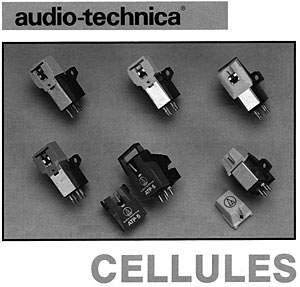 Audio Technica Cellules