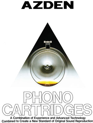 Azden Phono Cartridges