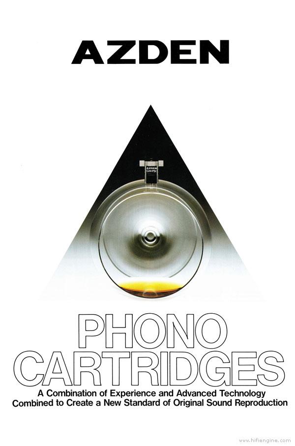 Azden Phono Cartridges Product Brochure Vinyl Engine