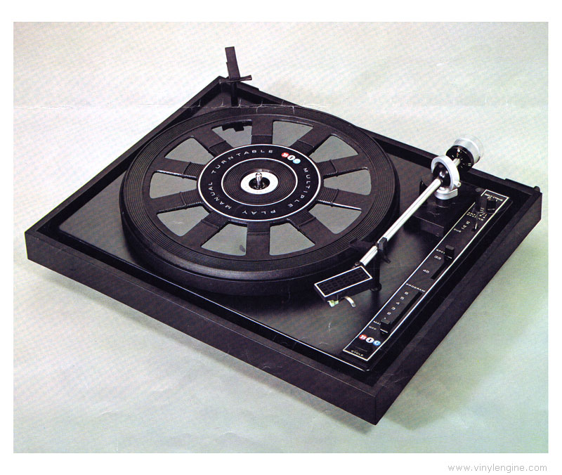 Bic 940 Manual Multiple Play Manual Turntable Vinyl