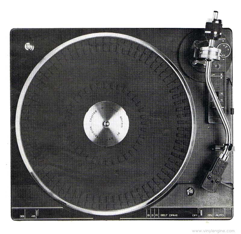 Bsr P200 Manual Belt Drive Automatic Turntable Unit