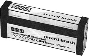 Decca Record Brush
