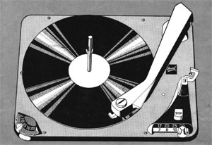 Dual 1007 A Manual 4 Speed Idler Drive Turntable