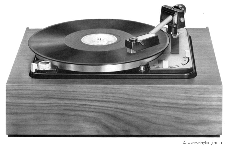Dual 1009 Manual 4 Speed Fully Automatic Turntable