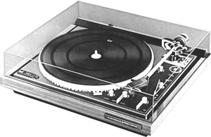 Dual 721 Manual 2 Speed Direct Drive Turntable Vinyl