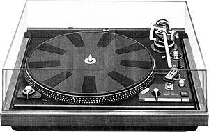 Dual 1246 Manual 2 Speed Belt Drive Turntable Vinyl