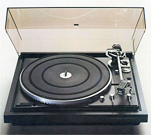 Dual 721 manual 2 speed direct drive turntable vinyl for Direct drive turntable motor