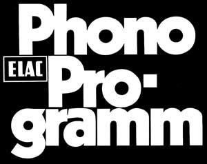 ELAC Phono Programm