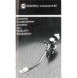 Fidelity Research Tonearms Pick-Ups Accessories