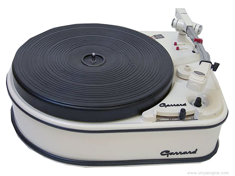 Garrard 4hf Manual Single Record Playing Idler Drive