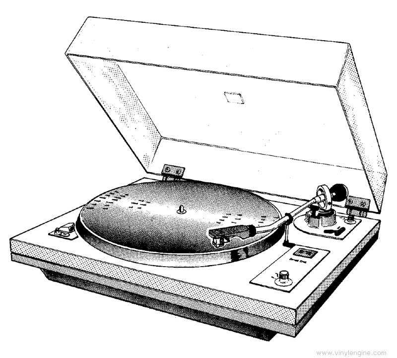 garrard dd130 - manual - direct-drive turntable