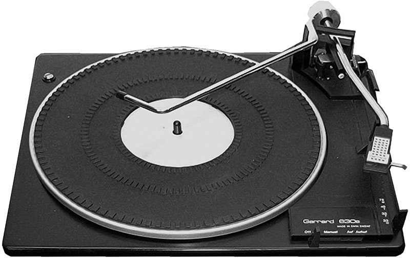 Garrard 630S - Manual - 3-Speed Fully-Automatic Record