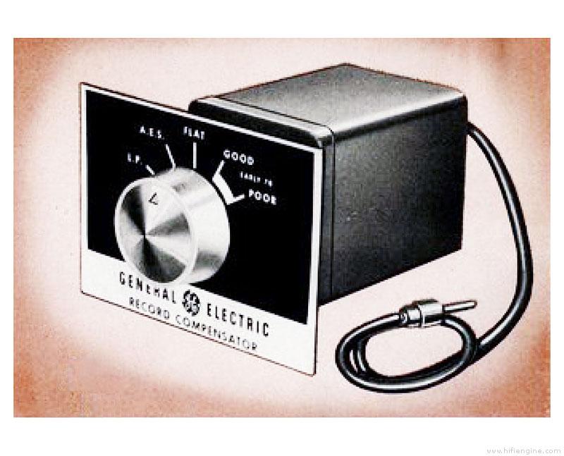 General Electric A1-900 - - Record Compensator