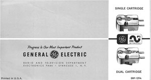 General Electric Variable Reluctance Cartridges