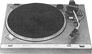 Hitachi Ht 356 Manual 2 Speed Direct Drive Turntable