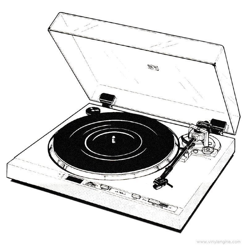 Hitachi ht 40s manual direct drive turntable vinyl for Direct drive turntable motor