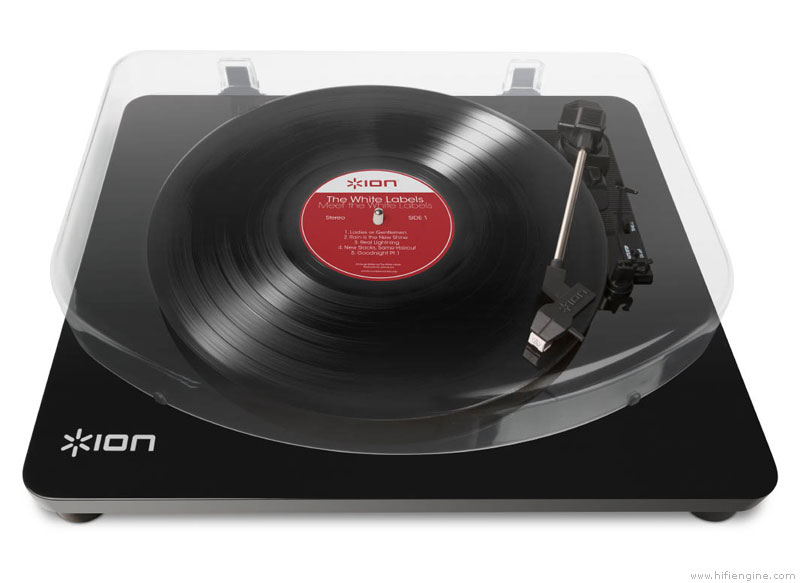 Ion Audio Select Lp Manual Belt Drive Turntable
