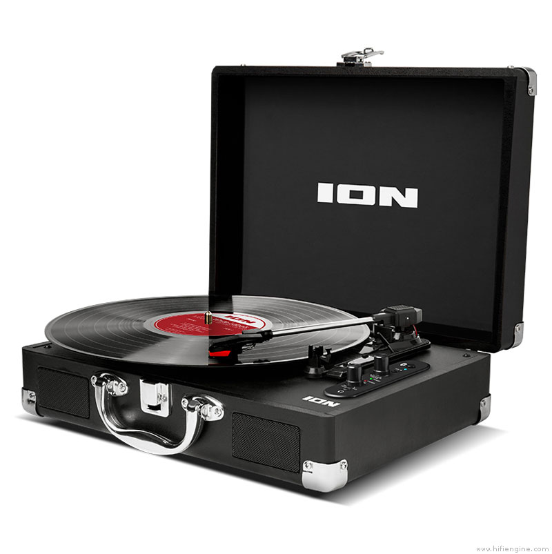 Ion Audio Vinyl Motion Air Manual Portable Turntable