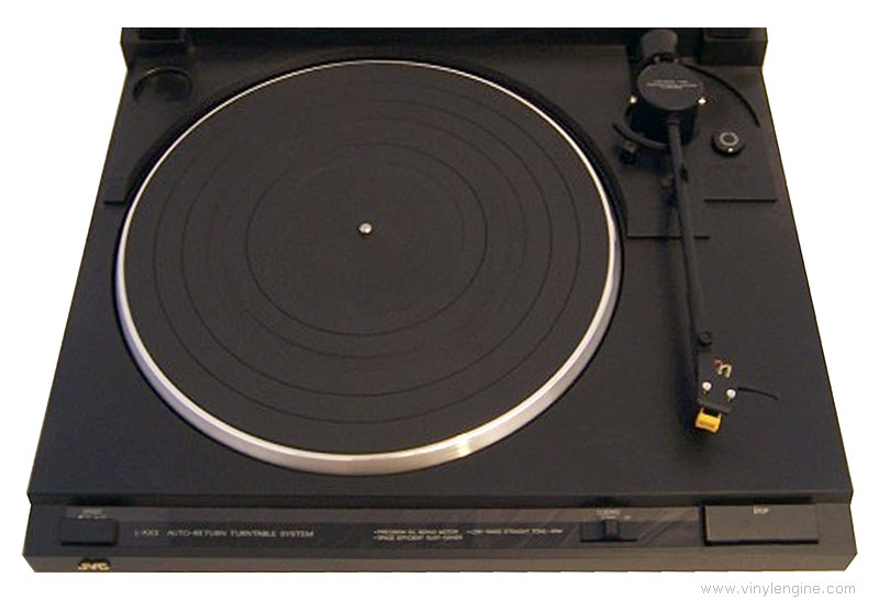 Jvc L Ax3 Manual Auto Return Belt Drive Turntable