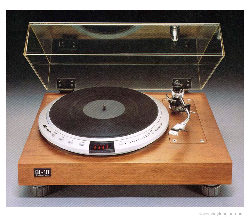 Jvc Ql 10 Manual Quartz Locked Turntable Vinyl Engine