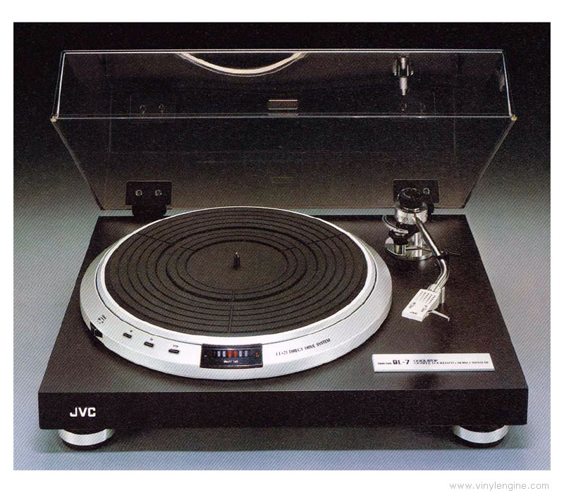 Jvc ql 7 manual quartz locked direct drive turntable for Direct drive turntable motor