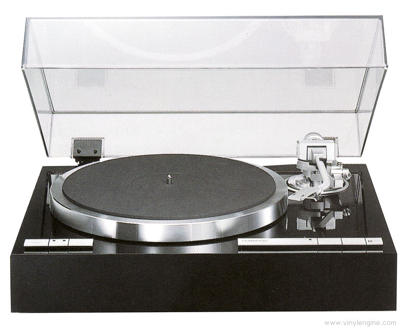 kenwood kd  manual auto lift  turntable vinyl