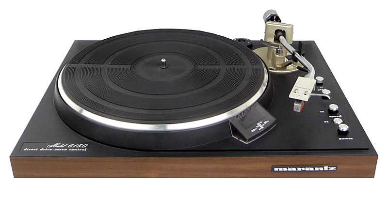 Marantz 6150 Manual Direct Drive Turntable Vinyl Engine