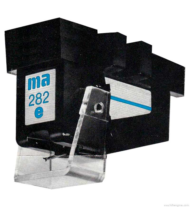 Micro Acoustics 282 E Manual Stereo Phono Cartridge