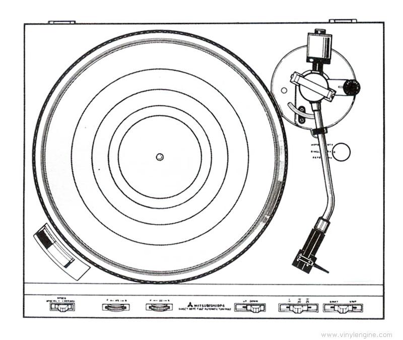 mitsubishi diatone dp-5 - manual