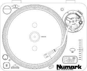 Numark Pro TT1