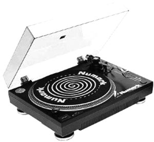 Numark Tt1700 Manual 2 Speed Belt Drive Turntable