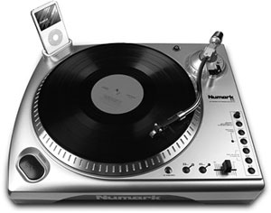 Numark Tti Manual Usb Turntable With Universal Dock