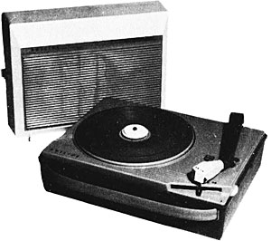 Philips Ag 4026 Manual Portable Record Player Vinyl