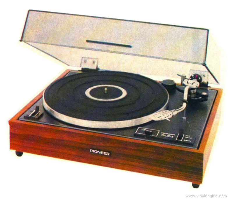 Pioneer Pl 12d Manual 2 Speed Belt Drive Turntable