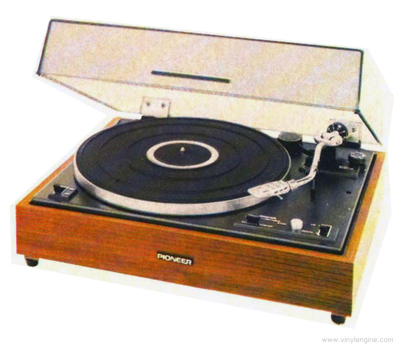 Pioneer PL-15D 2-Speed Belt-Drive Turntable Manual | Vinyl Engine