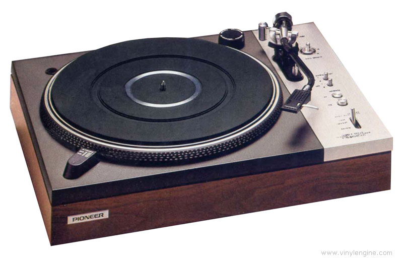 Pioneer pl 510a manual 2 speed direct drive turntable for Direct drive turntable motor