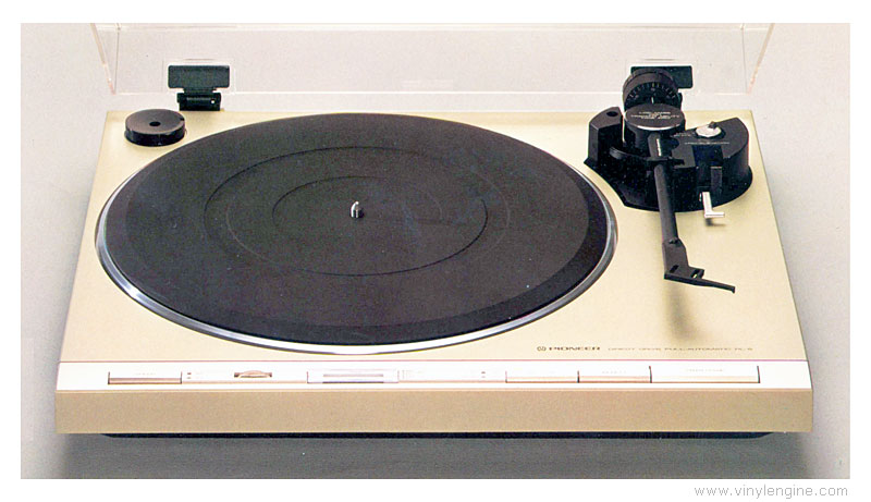 Pioneer pl 5 manual 2 speed direct drive turntable for Direct drive turntable motor