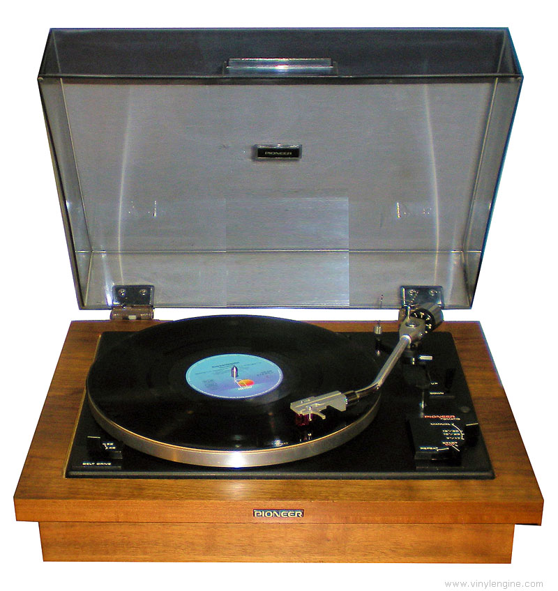 Pioneer PL-A35 - Manual - Fully-Automatic Belt-Drive ...